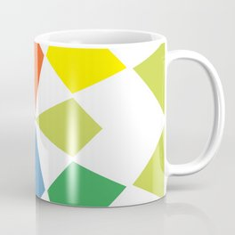 Rainbow block Coffee Mug