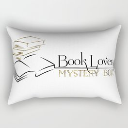 Book Lover Mystery Box Rectangular Pillow