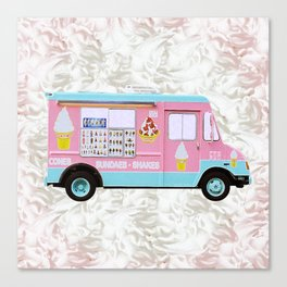 Time For Ice Cream Canvas Print
