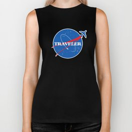 Interstellar Traveler Biker Tank