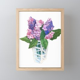 Lovely Lilacs Framed Mini Art Print