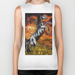 It's always sunny in philadelphia, charlie kelly horse shirt, black stallion Biker Tank