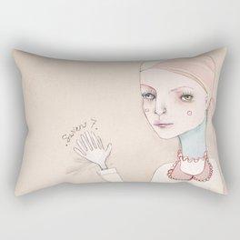 The High Five Seven Rectangular Pillow