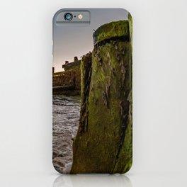 Seaside at sunrise iPhone Case