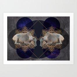 Inde Cosmologique I Art Print