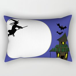 Witches Cottage Rectangular Pillow