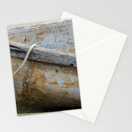 Micheal rode his boat ashore Stationery Cards