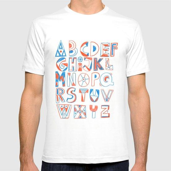 PlayFull Alphabet T-shirt