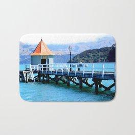 Akaroa Shoreline  Bath Mat