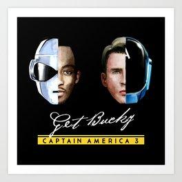 Up All Night to Get Bucky Art Print