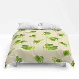 Lettuce Bok Choy Vegetable Comforters