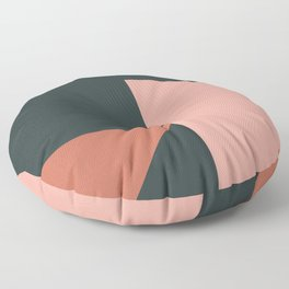 Orbit 04 Modern Geometric Floor Pillow