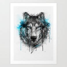 Alpha. Art Print
