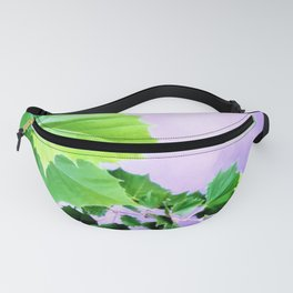 Sycamore Leaves Over the Water Fanny Pack