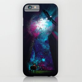 Keyhole Nebula iPhone Case