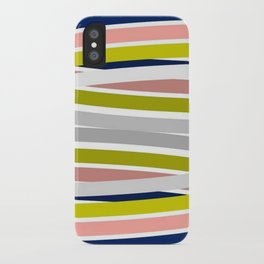 Colorful Strips iPhone Case