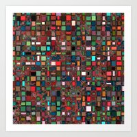mosaic Art Prints featuring Mosaic by Lyle Hatch