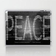 Peace is Always Beautiful Laptop & iPad Skin