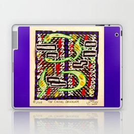 The Casual Observer Laptop & iPad Skin