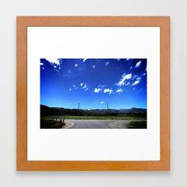 The Range Framed Art Print