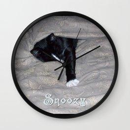 Snoozysleepy Wall Clock
