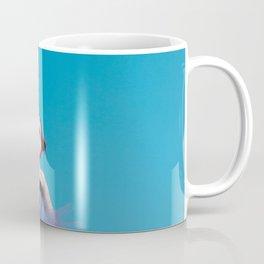 Ostrich woman Coffee Mug