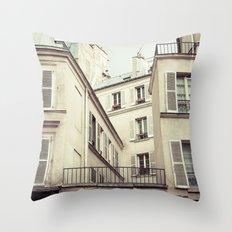 Paris Architecture Throw Pillow