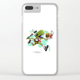 Bob x Reptar Clear iPhone Case