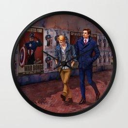 BuckyCap Salutes You Wall Clock