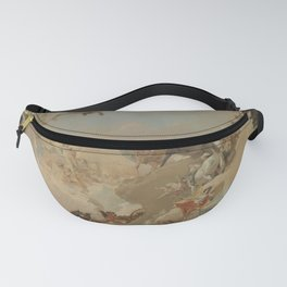 Allegory of the Planets and the Continents by Giovanni Battista Tiepolo Fanny Pack