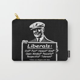 Attributes of a Liberal Carry-All Pouch