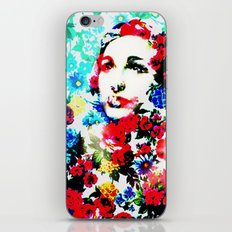 Rose Lady, Floral Patch iPhone & iPod Skin