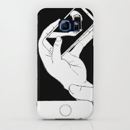 iFail White + Black accent (Picture This!) iPhone Case