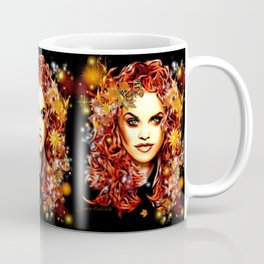 The Elementals - Syttya the Fire Dancer Coffee Mug