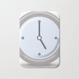 Clock Five Bath Mat