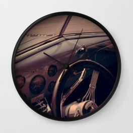 Vintage Blue Car Wall Clock