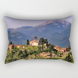 Town of Barga Rectangular Pillow