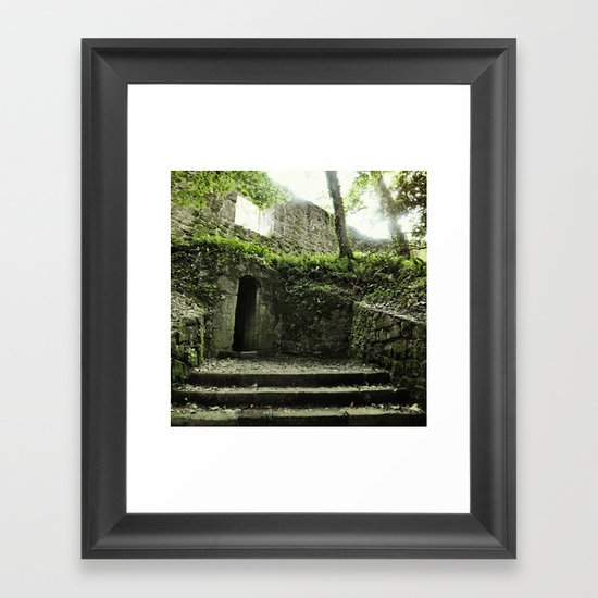 Temple oF dOOm Framed Art Print