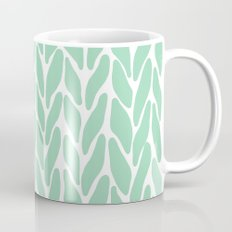 Hand Knitted Mint Mug