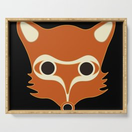 Fox Serving Tray