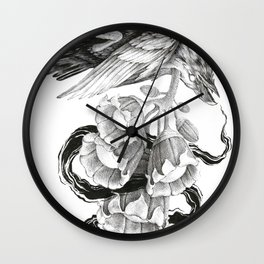 Soul of a Raven Wall Clock