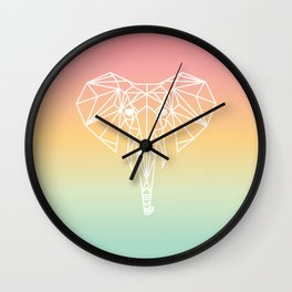 Elephant #20 Wall Clock