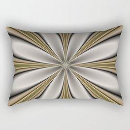 Fractal Flower in CMR 01 Rectangular Pillow