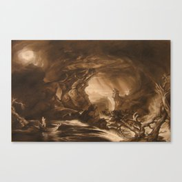 Thomas Cole MAster Copy Canvas Print