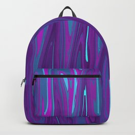 Pink, Purple, and Blue Waves 2 Backpack