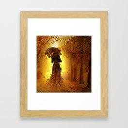 Be my autumn Framed Art Print