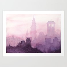 The Sun Will Rise Again Art Print