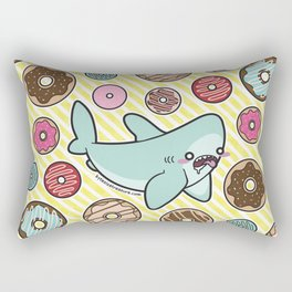 Drooling over Donuts Rectangular Pillow