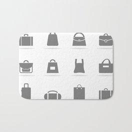 Bag an icon Bath Mat