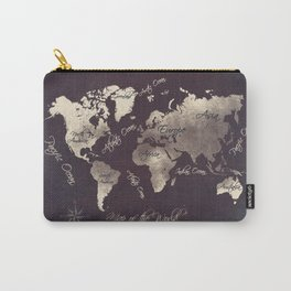 world map 18 Carry-All Pouch